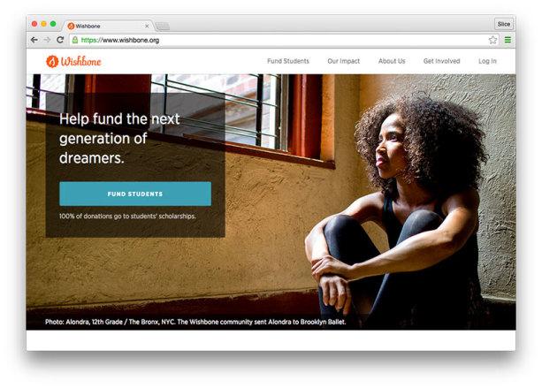 Wishbone Homepage